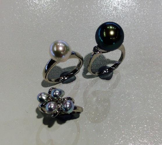 真珠 指輪