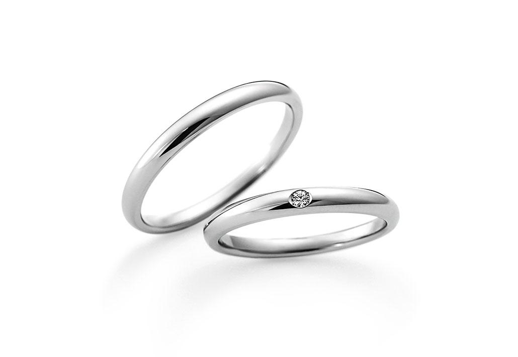 結婚指輪 デザイン ストレート