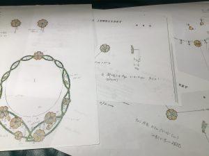 思川桜デザイン画